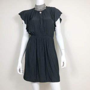 F1-2: Wilfred black short-sleeve dress size 8